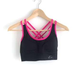 Nike Inspired Cross-Back Sports Bra