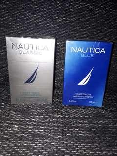 Authentic Nautica Classic and Blue USA 100 ml