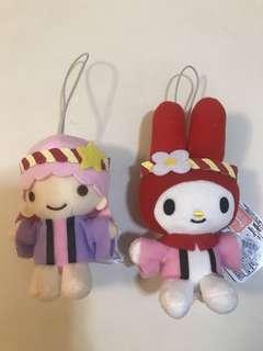 Melody/little twins star 公仔2隻