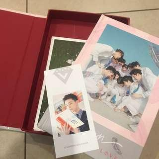 Seventeen Love and Letter Album