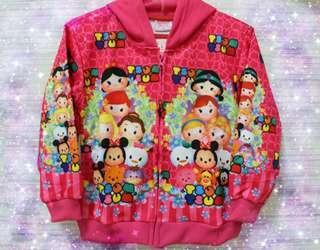 Jaket anak Tsum tsum
