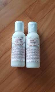 $10/65ml bottle grapefruit body lotion kiehl's