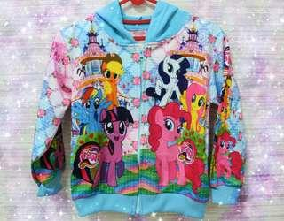 Jaket anak My Little Pony blue