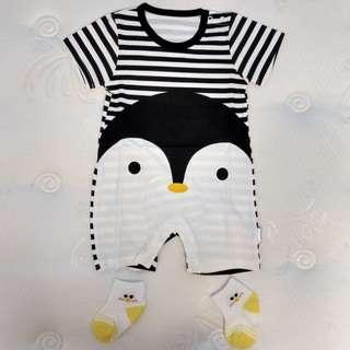 *CNY Special* Baby Romper - Penguin