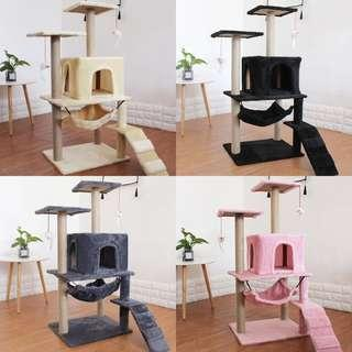 Cat Condo Tree Scratch post, not carrier cushion bed cage