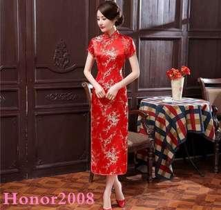 Long Cheongsam dress