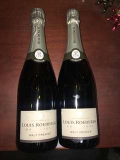 Louis Roederer champagne 750ml