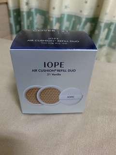 🚚 IOPE 氣墊粉餅補充包 色號21