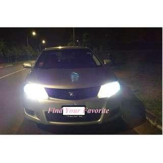 J1 brand H8/H11 (both same fitting) CSP LED foglight 6500k super white on Toyota Allion - cash&carry only without installation.