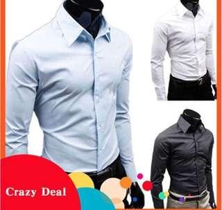Men's button up formal shirt
