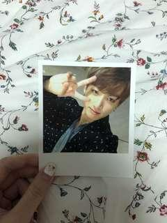 Jungkook wings official photocard