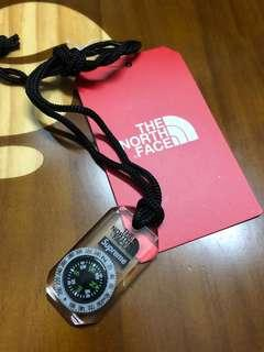 🧭 Supreme x The North Face Compass Necklace ( HK AAA )
