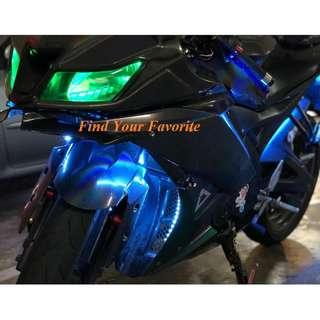 Yamaha R15 on T10 type CREE super bright project lens FOR POLE LIGHT (READ THE DESCRIPTION) - cash&carry (INSTALLATION NOT PROVIDED).