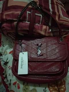 Ysl niki chain bag premium authentic