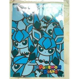 日本神奇寶貝休閒店 ~ 寶可夢 Pokémon 神奇寶貝XY&Z 冰精靈文件夾 日本限定販售