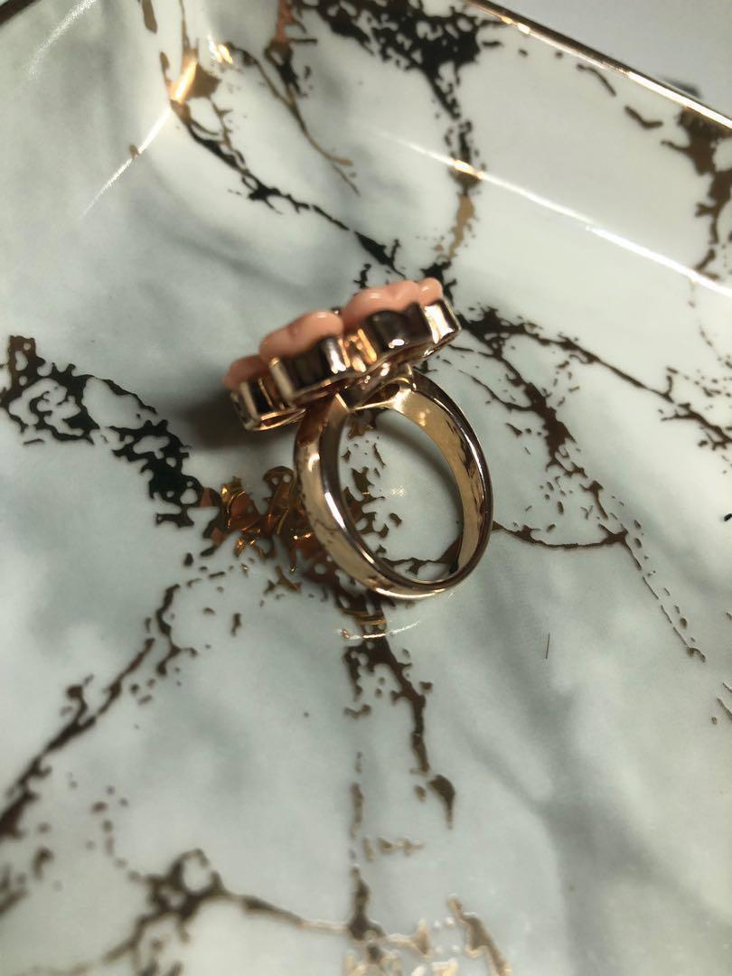 貝殼花戒指
