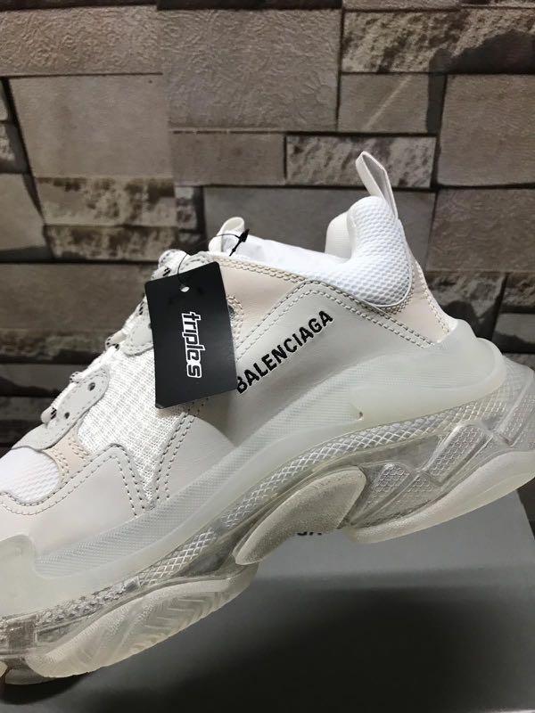 Balenciaga Triple S Cream shoes Balenciaga shoes Dad