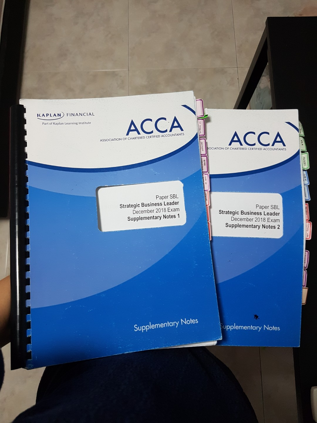 ACCA SBL Notes
