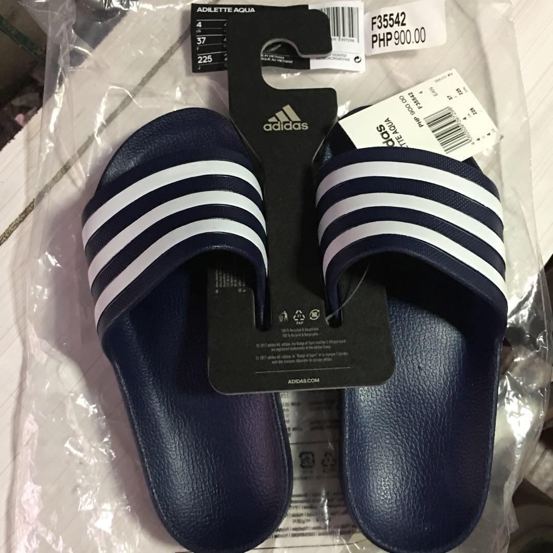 1036507cff08 Adidas adilette aqua men s slide navy blue