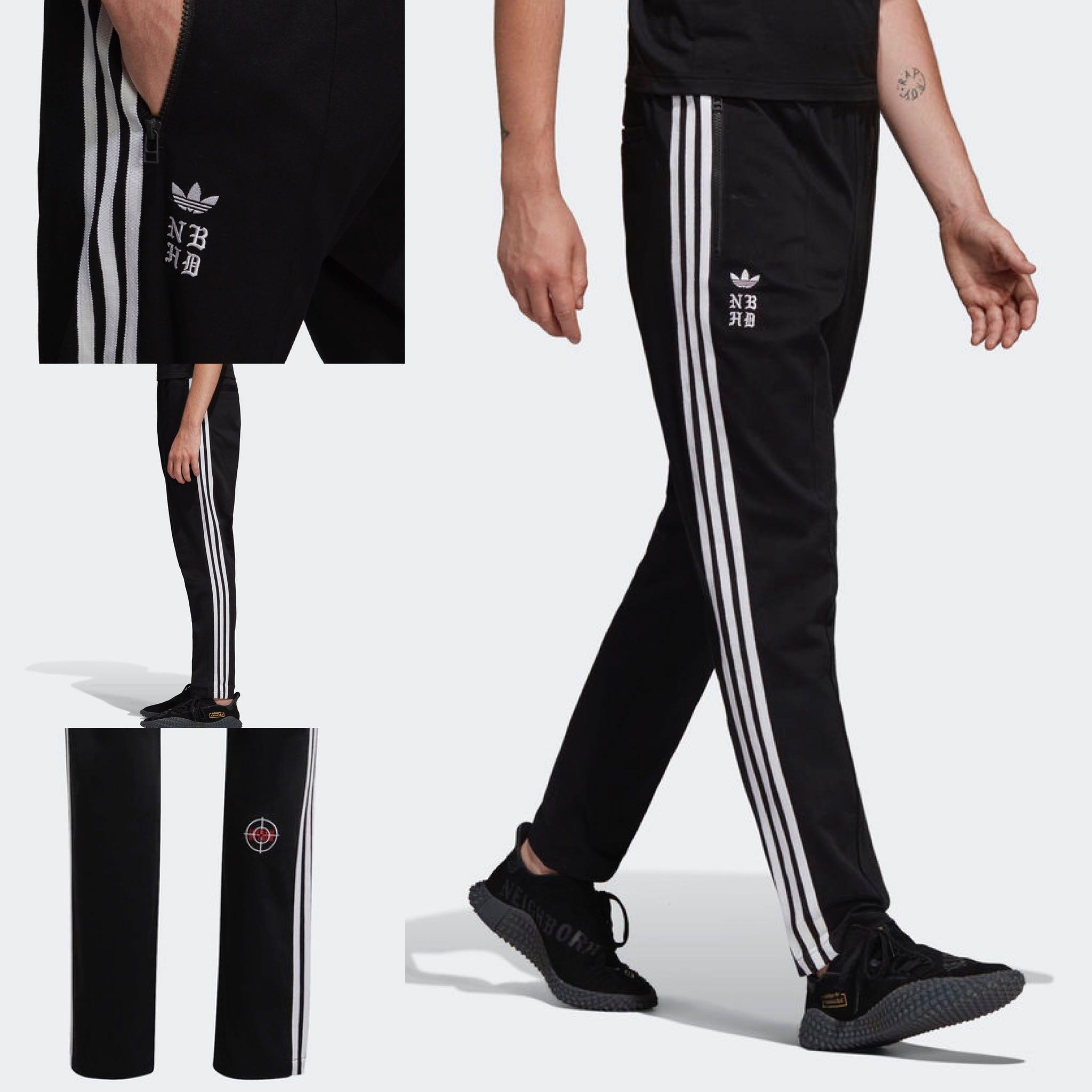 9e01e33ad6a9 Adidas Neighborhood TRACK PANTS - BLACK