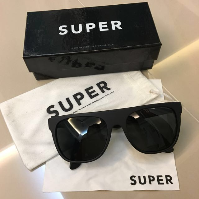 """35fdc03bf7 Authentic Super by Retrosuperfuture """"Flat Top"""" Sunglasses"""