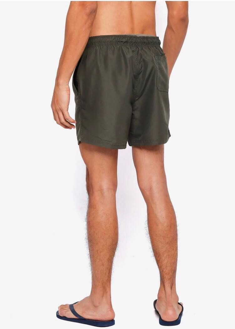 9d0f72607a Authentic Threads by the Produce Swim Shorts Size S in Olive, Men's  Fashion, Clothes, Bottoms on Carousell