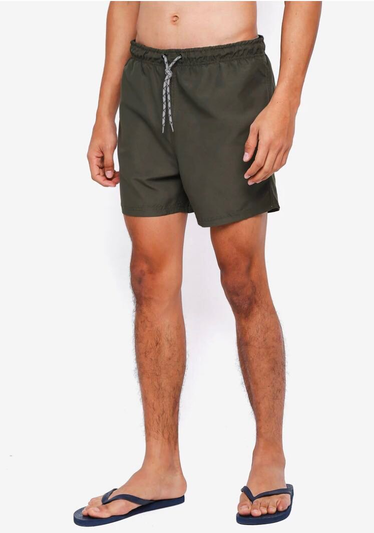 50cc0e21bc Authentic Threads by the Produce Swim Shorts Size S in Olive, Men's ...