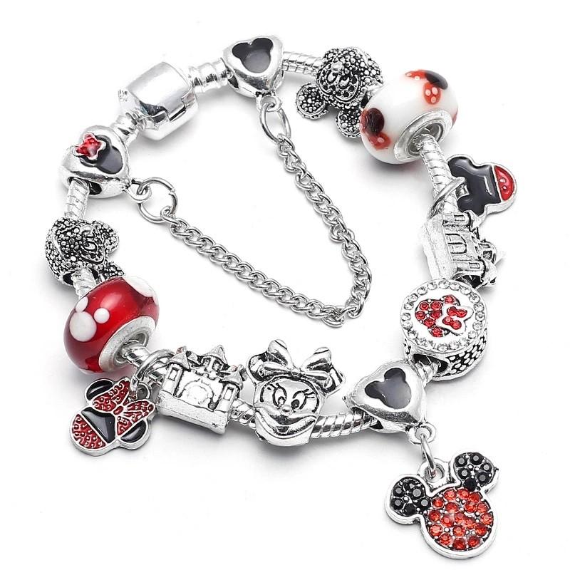 109de9aef ... photo photo photo · pandora charm bracelet mickey minnie ...