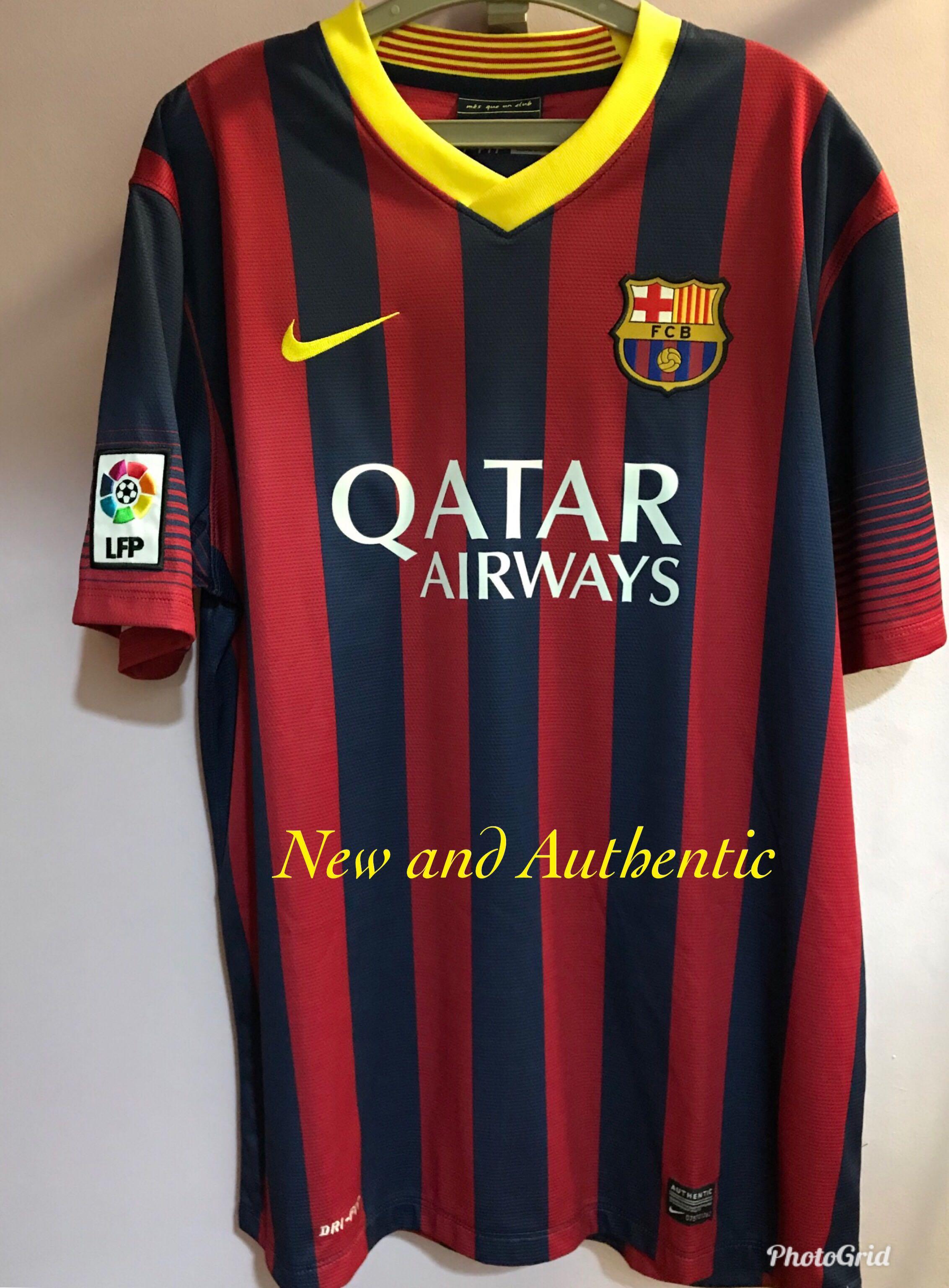 e9e88036a Barcelona Home Shirt 2013 2014 (New   Authentic)