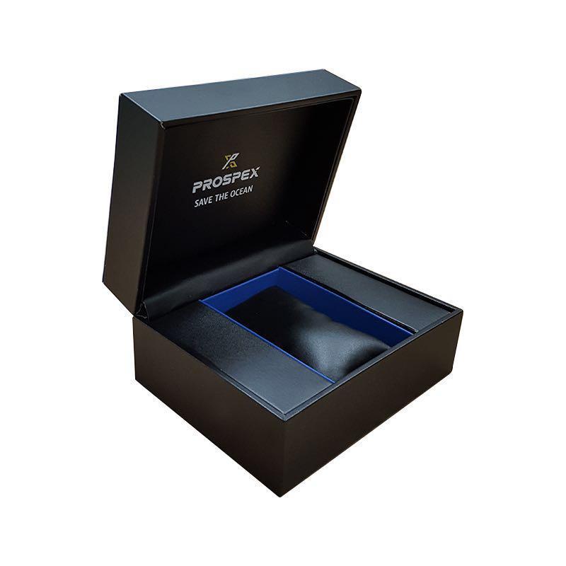 "BNIB SEIKO PROSPEX ""Save The Ocean"" Black Series Special Edition Solar Chronograph Diver's SSC701P1"