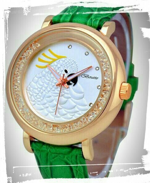 寶繹Boutte手錶 森林嘉年華 鸚鵡系列