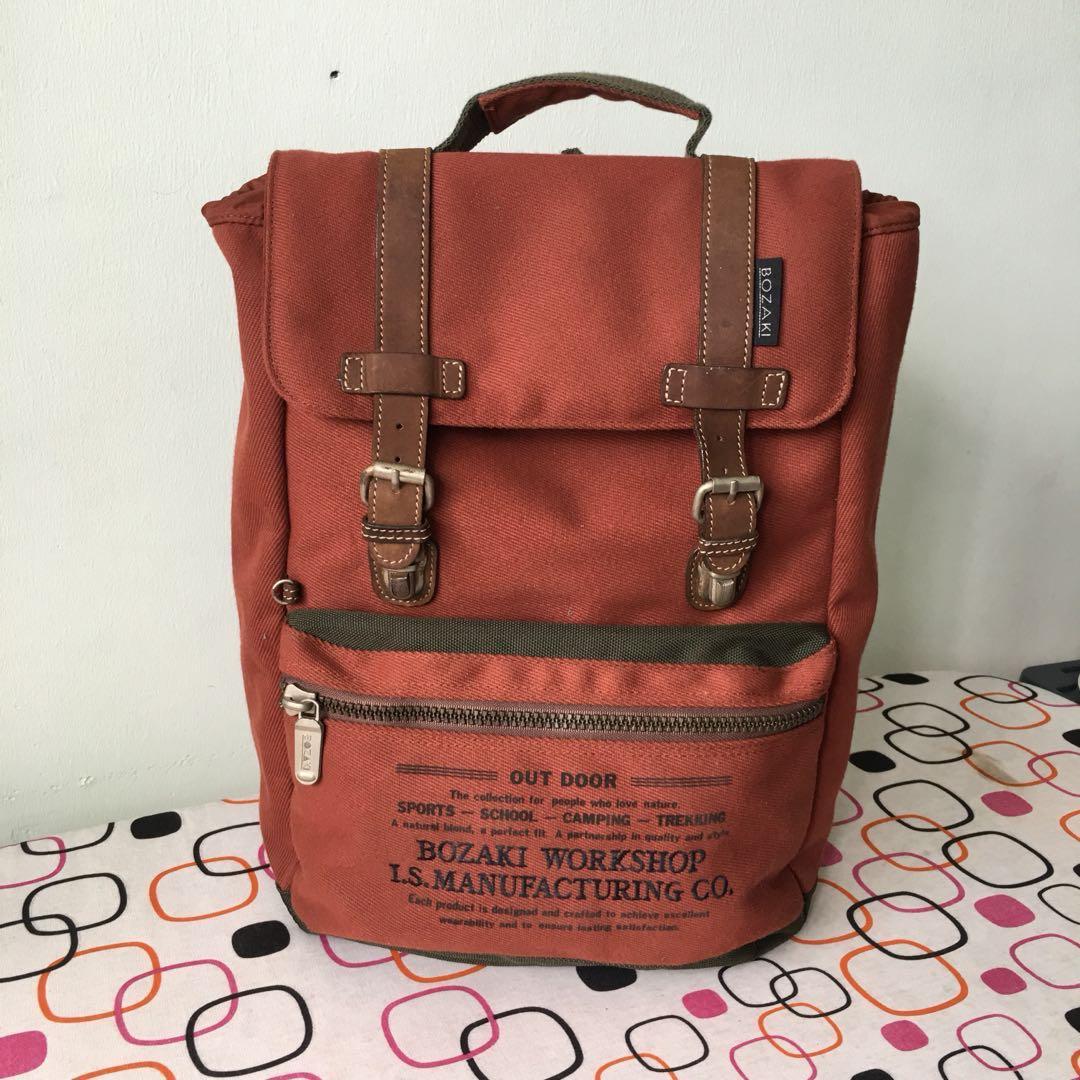 4a72c2526a1e bozaki backpack 20L, Men's Fashion, Bags & Wallets, Backpacks on Carousell