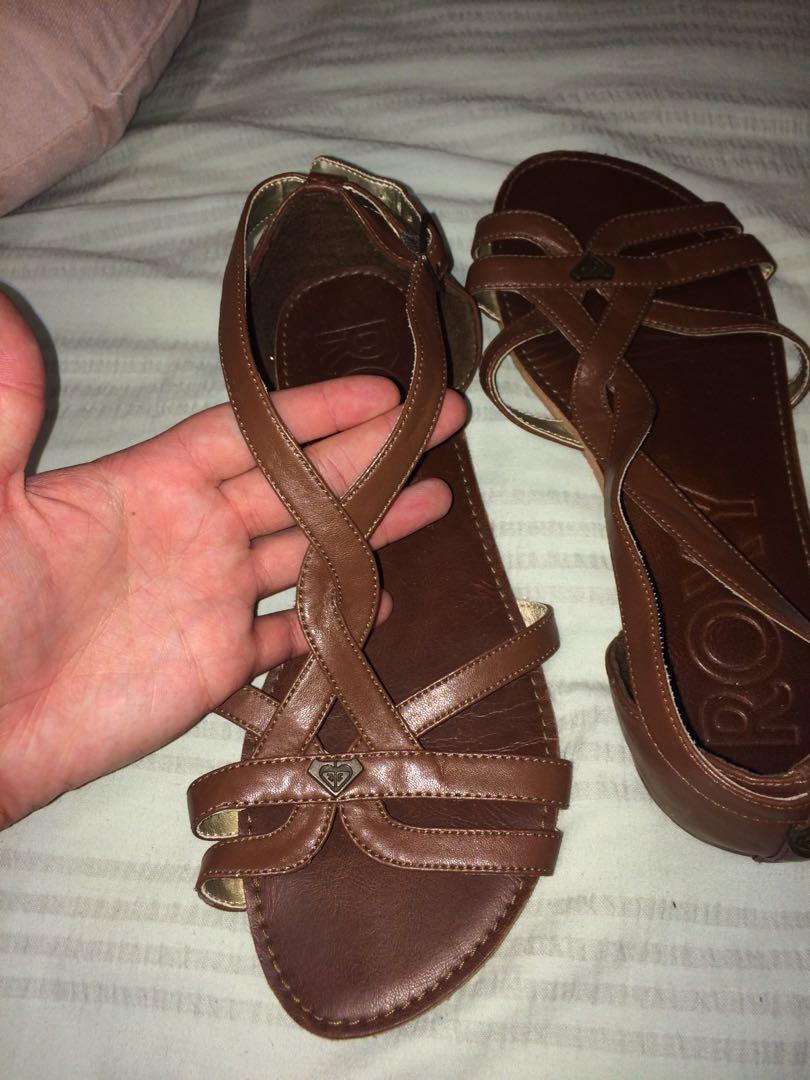 Brown Roxy sandels