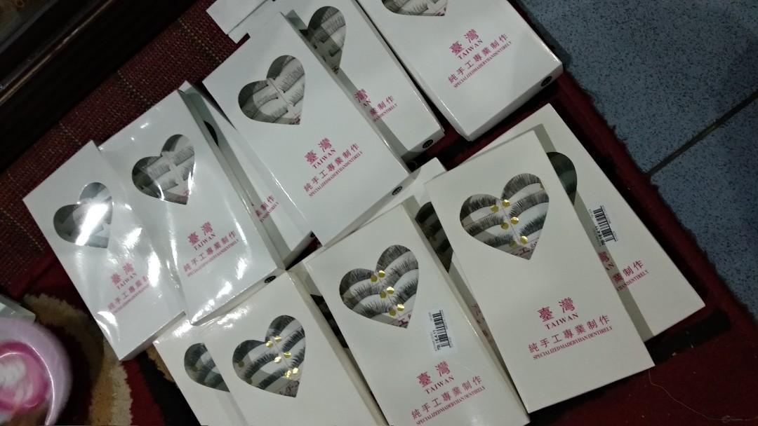 Bulu mata palsu Taiwan korea