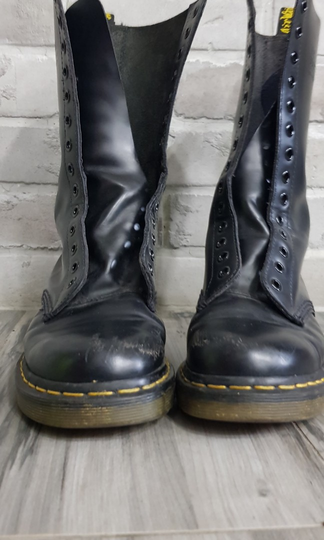 65e653885 dr.martens 1914 black boot 14 eye not dr martin.