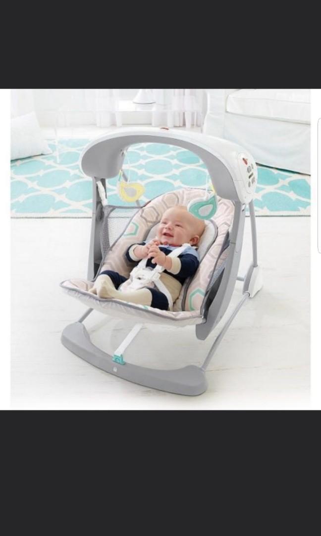 Fisher Price take along Swing, Rocker and Seat, Babies