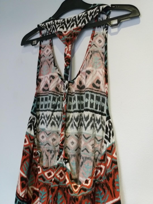 Repriced Follow (bali brand) colorful summer dress