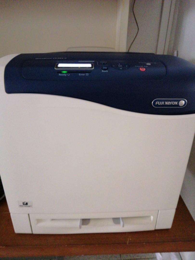 Fuji Xerox A4 Colour Laser Printer CP305 D, Electronics