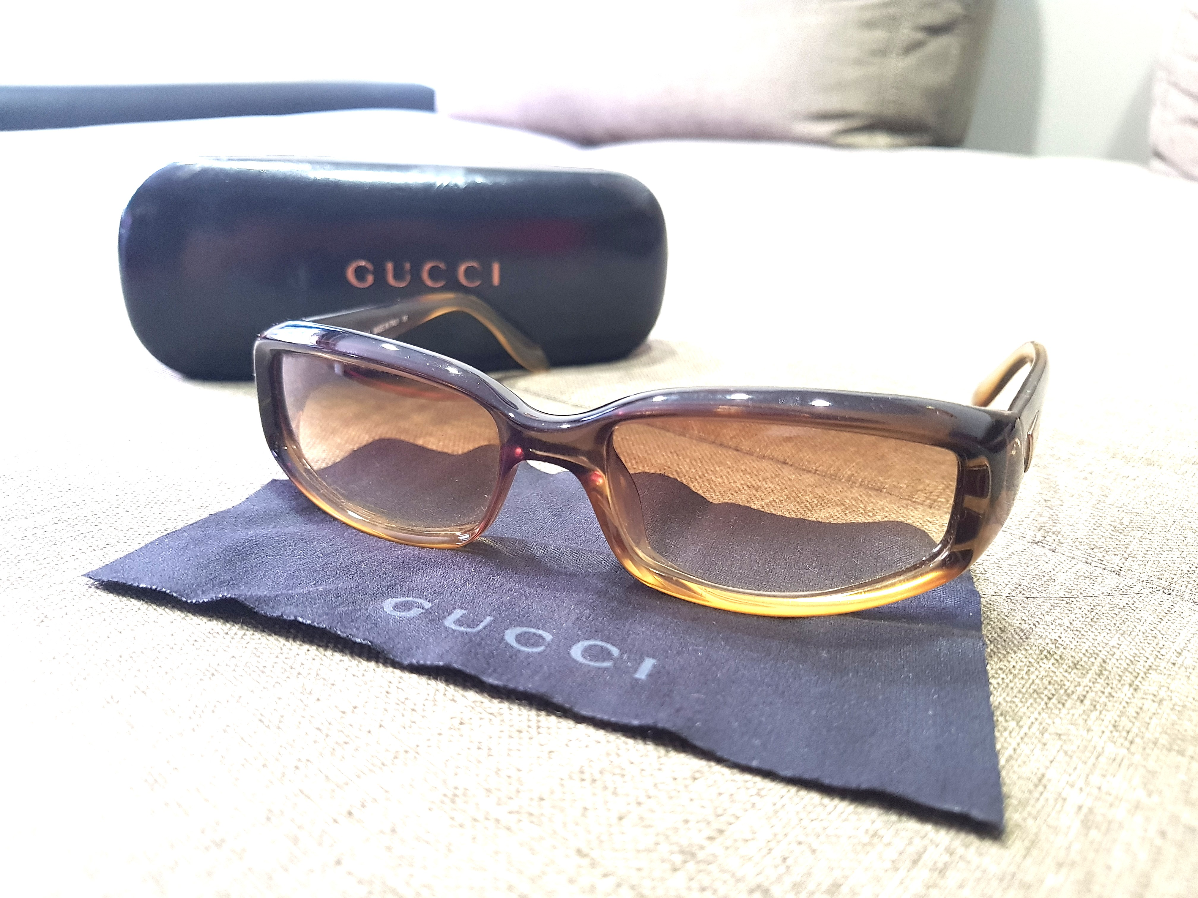 2dfb7a4fcb3 Gucci Ombre Brown Sunglasses