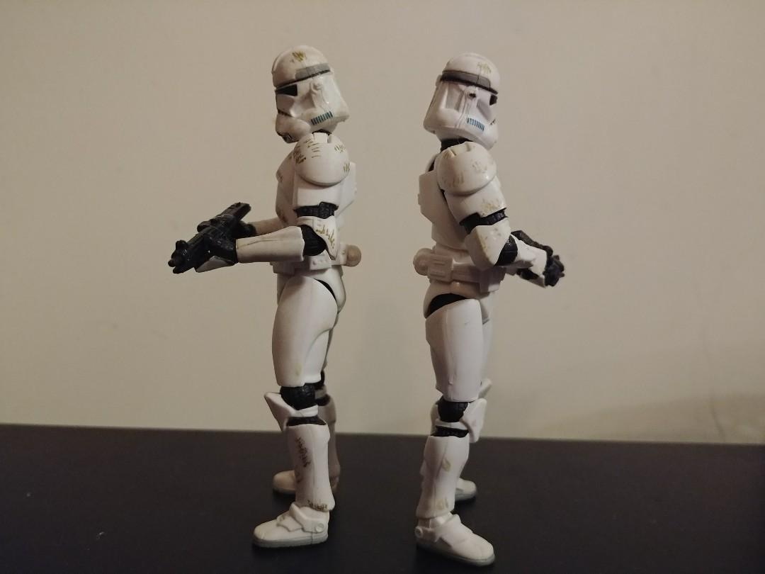 Hasbro Star Wars 3.75 Clone Trooper (first issue version)