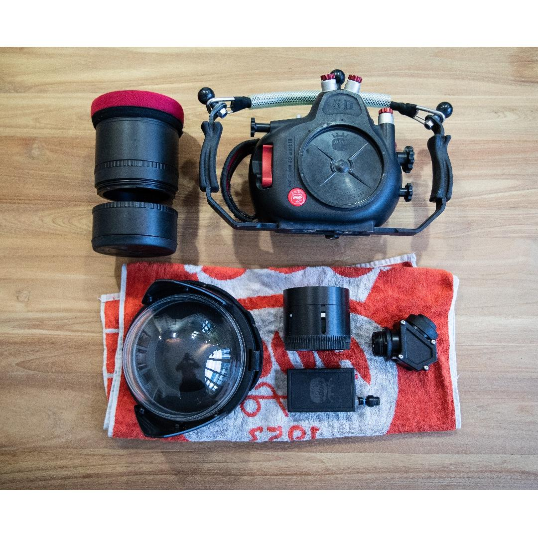 Hugyfot Underwater Housing For Canon 5d Mark Iii 5d3