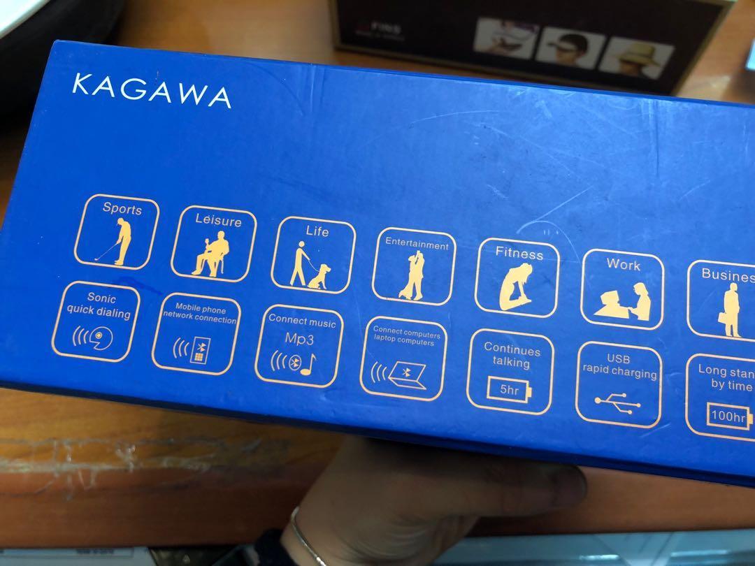 KAGAWA Bluetooth optical glass