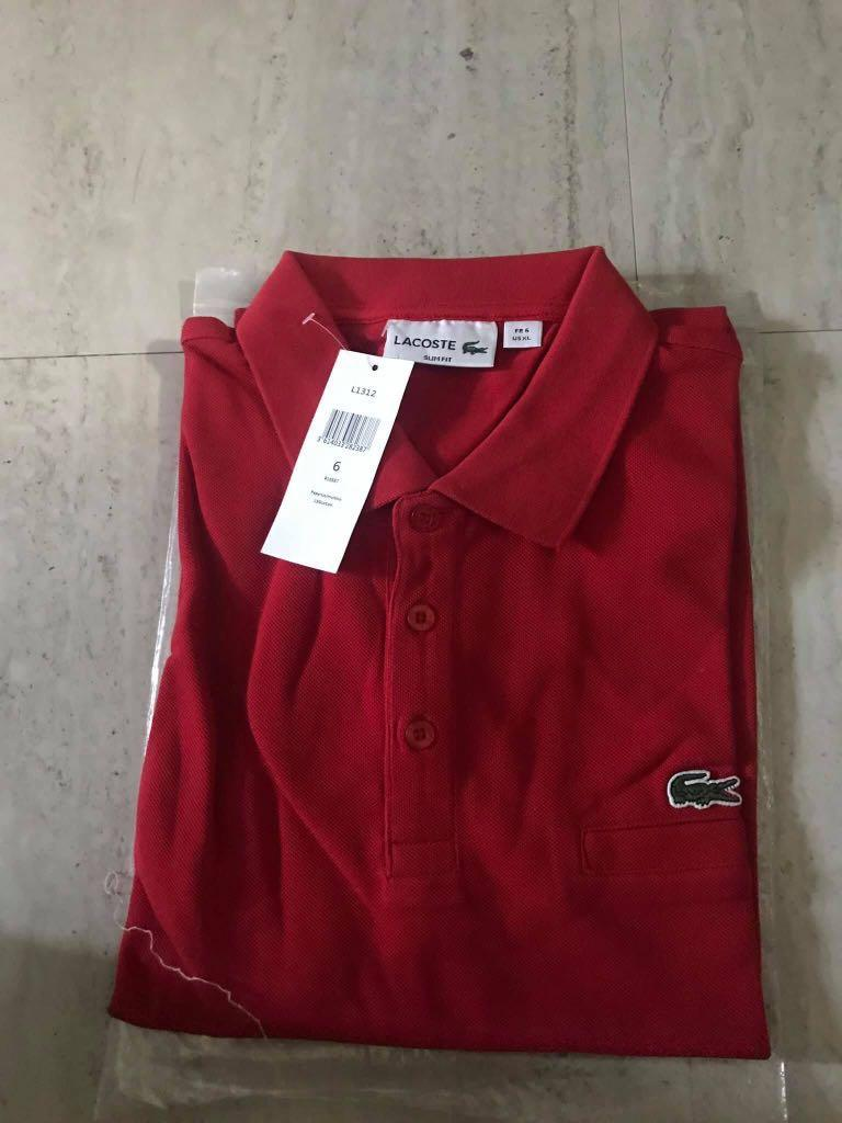 Carousell Lacoste Polo Size Original On Guaranteed 6 FlTJc1K