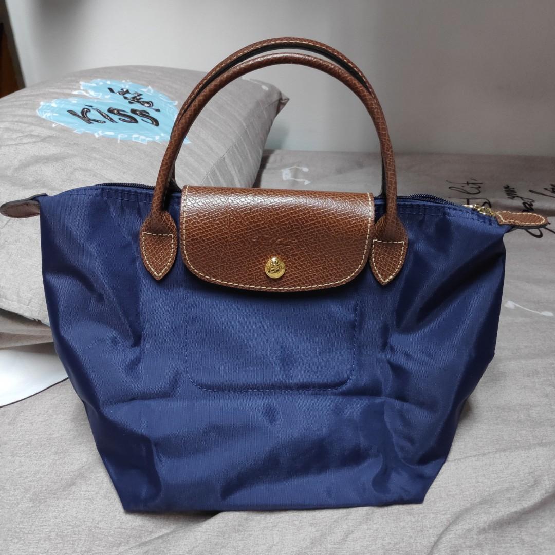 f7366512c5 Longchamp Le Pliage Short Handle, Women's Fashion, Bags & Wallets ...