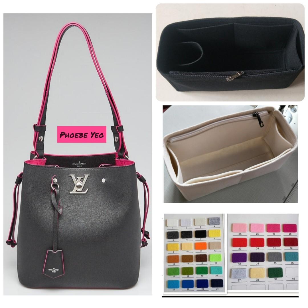 aed6bb4f6c LV Lockme Bucket Bag Inner Organiser, Luxury, Bags & Wallets ...