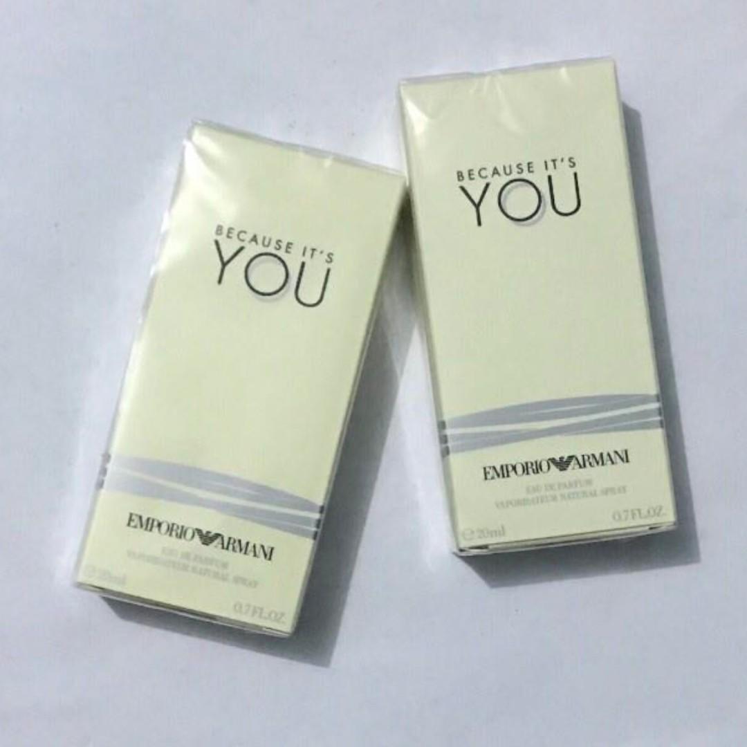 Perfume For Women Giorgio Armani Because Its You Health Beauty