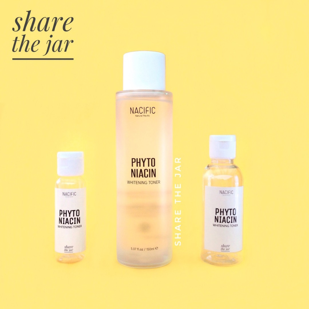 Nacific Phyto Niacin Whitening Toner Share in Bottle, Health & Beauty, Skin, Bath, & Body on Carousell
