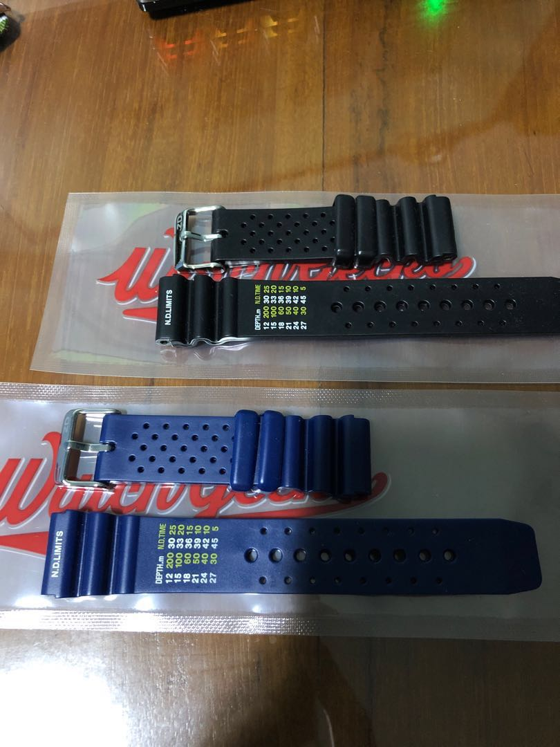 5a6f6bb692e ND limits diving rubber watch strap