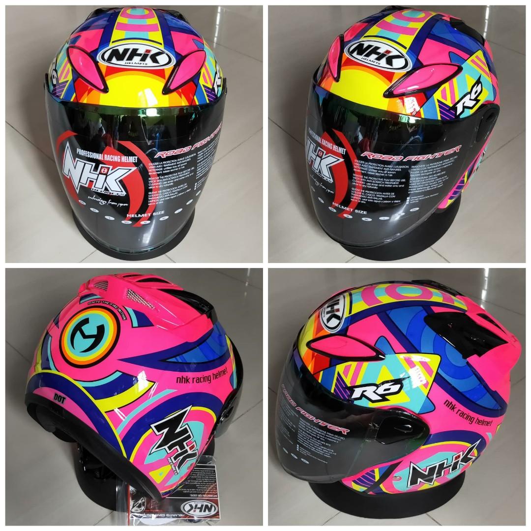 5ca30316 NHK Helmet, Motorbikes, Motorbike Accessories on Carousell