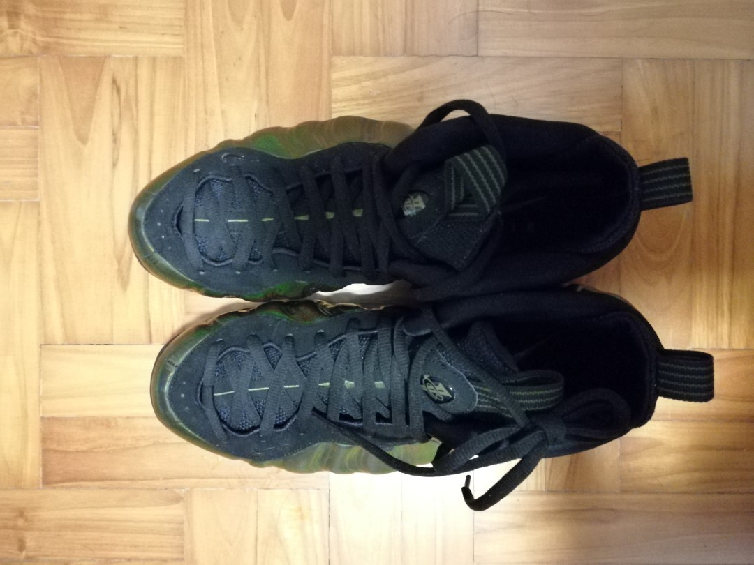 "80d16d4d3e7  2ND ITEM 50%OFF Nike Air Foamposite One ""Legion Green"" Mens Basketball  Shoes Sneakers 314996-301"